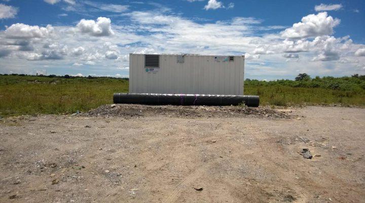 Kaatopaikan kaasunkeräys- ja sähköntuotantojärjestelmä Sambiaan