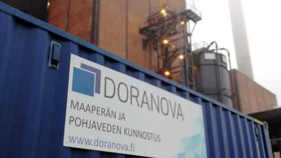 DoAct® CORE -yksikkö Helsingissä, Hanasaaren voimalaitoksen tontilla.