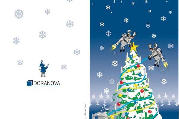 Doranovan joulukortti