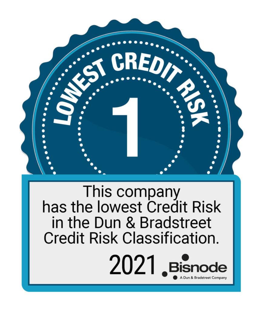 Doranova Oy Lowest credit risk 1